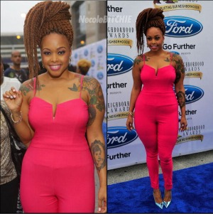 Chrisette-Michele-attends-the-2014-Neighborhood-Awards