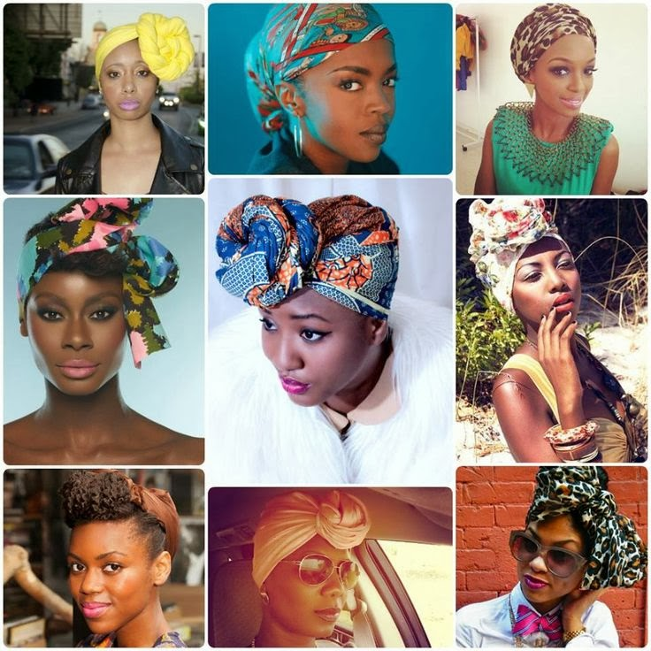 QUICK & EASY SCARF TUTORIALS FOR NATURAL HAIR